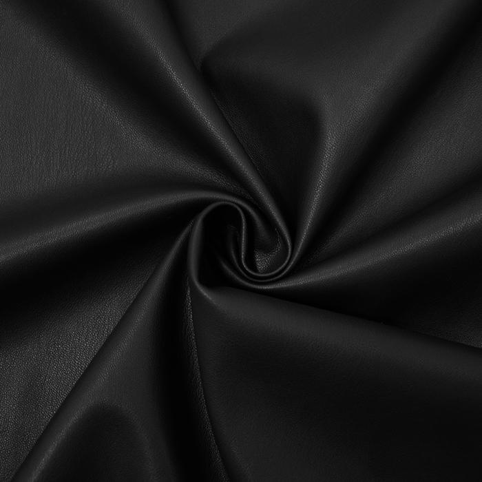 Umjetna koža, odjevna, 16065-069, crna