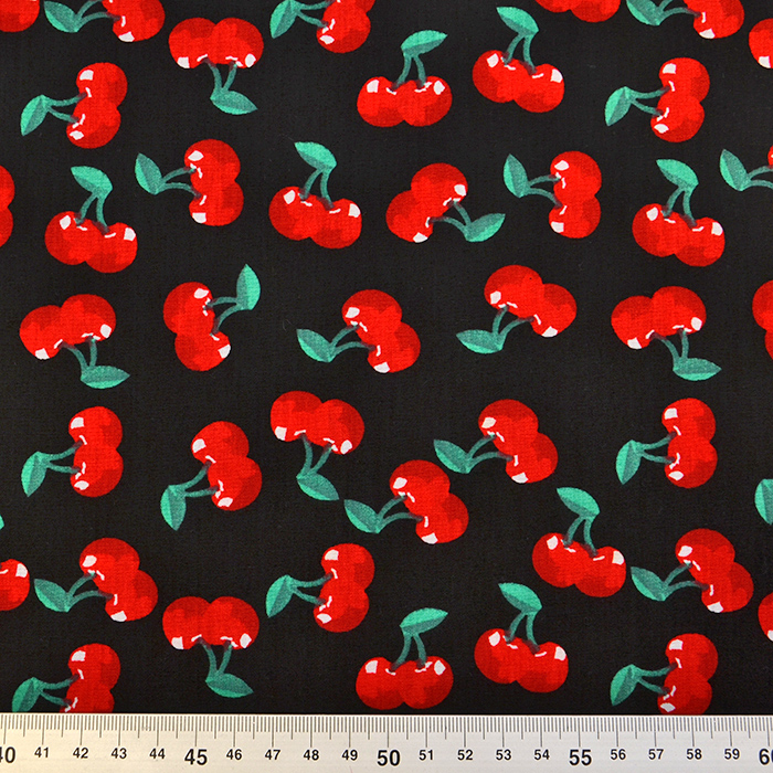 Bombaž, poplin, sadje, 16079-069