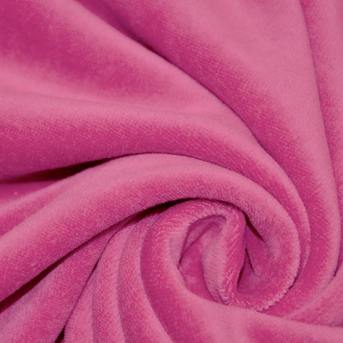 Pliš, pamuk, 13348-014, roza