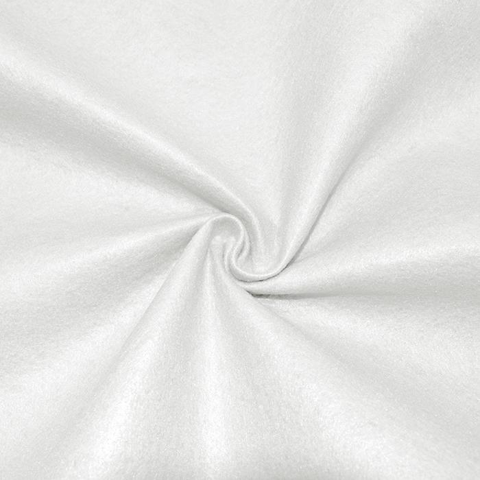 Filc 1,5mm, poliester, 16123-050, bela