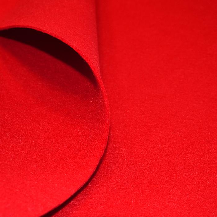 Filc 3mm, poliester, 16124-015, rdeča