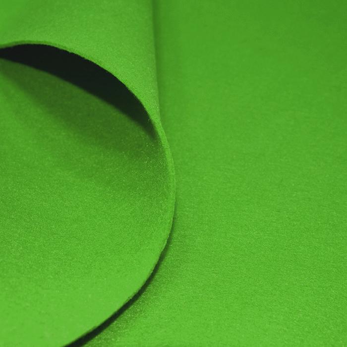 Filc 3mm, poliester, 16124-021, zelena