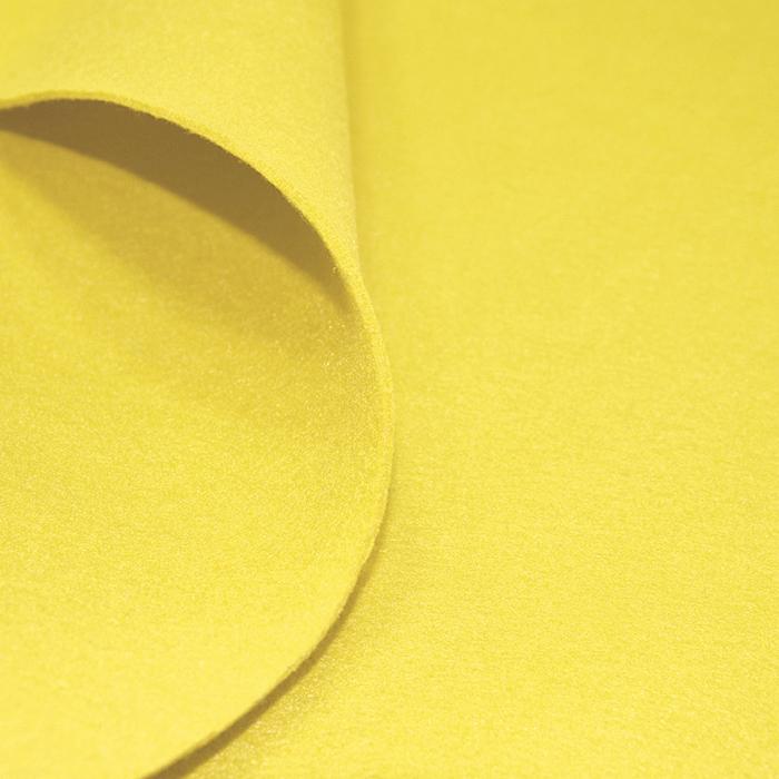 Filc 3mm, poliester, 16124-033, rumena