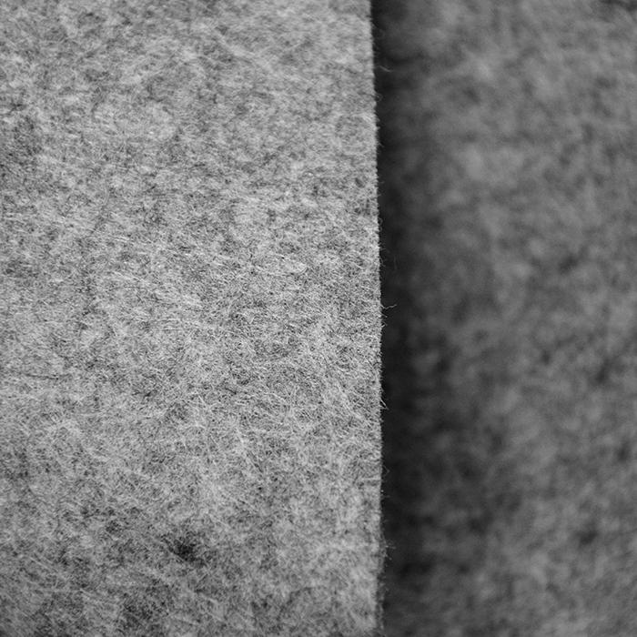 Filc 3mm, poliester, 16124-067, melanž siva