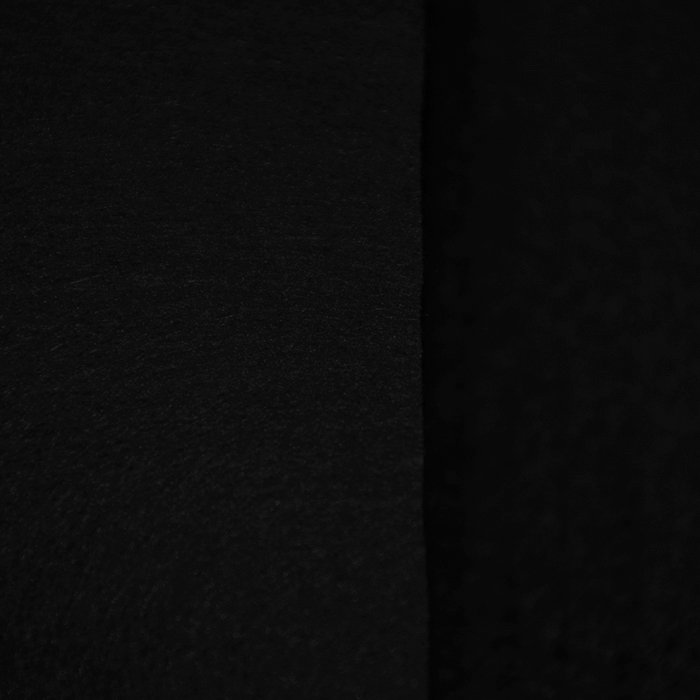 Filc 3mm, poliester, 16124-069, črna
