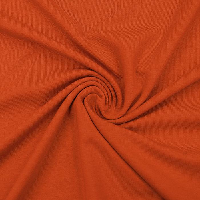 Jersey, viskoza, luxe, 12961-533, oranžna