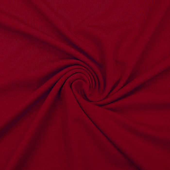 Jersey, viskoza, luxe, 12961-600, rdeča