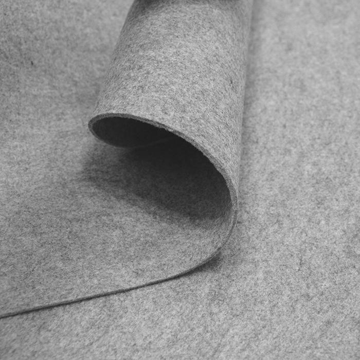 Filc 3mm, poliester, 13470-23, siva melanž
