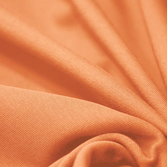 Jersey, bombaž, 13335-42, oranžna