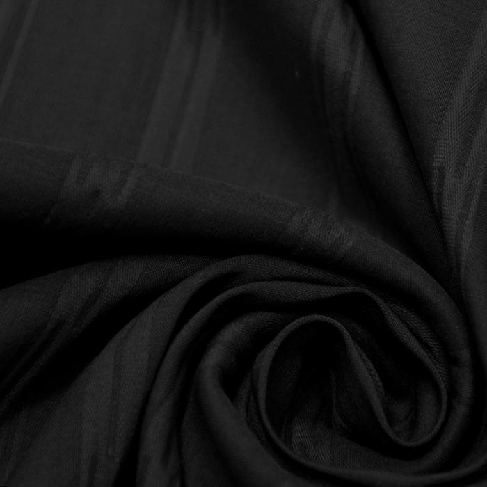 Pamuk, popelin, elastin, 15995-999, crna