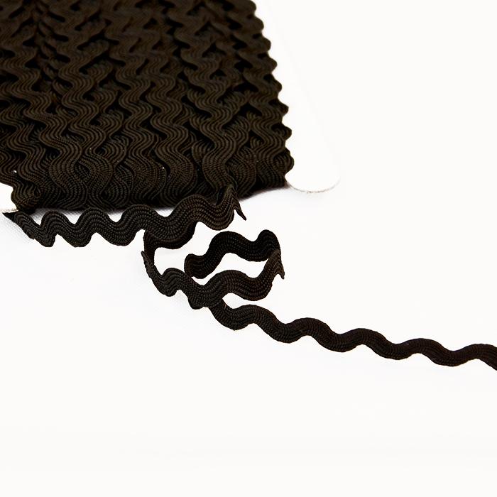 Trak, cik cak, 16191-10539, črna