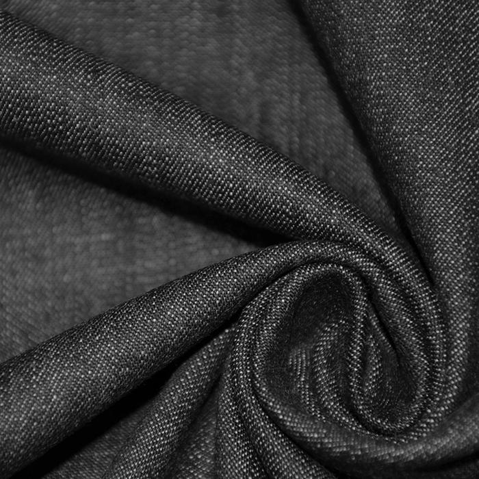Jeans, prožen, 16175-15, črna