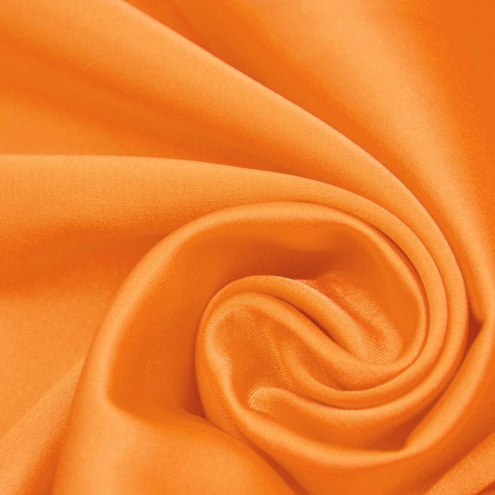 Saten, poliester, 3093-27, oranžna
