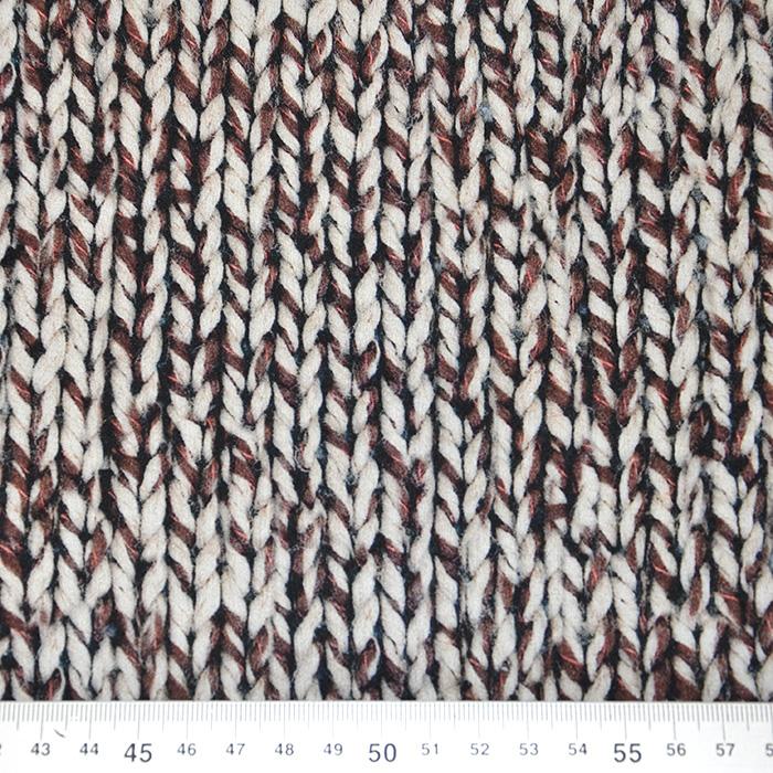 Svila, saten, vzorec pletiva, 16262-37