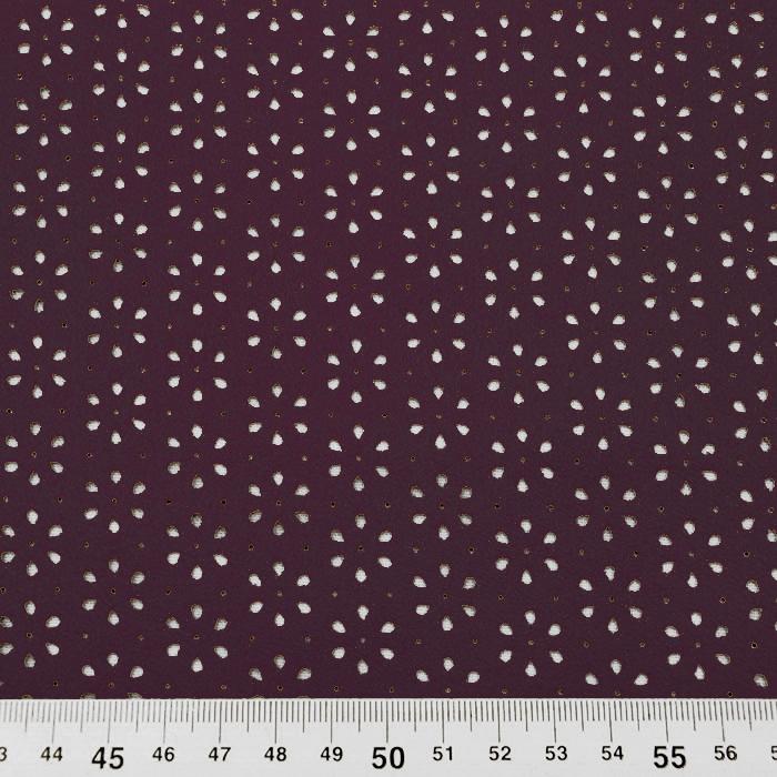 Semiš, brušeno pletivo, 16120-019, temno vijola