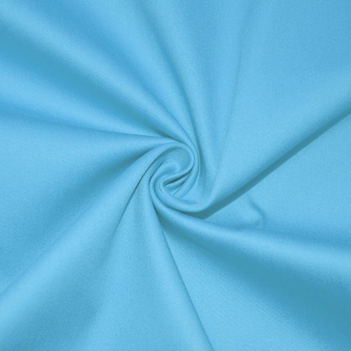 Saten, bombaž, 16275-003, modra