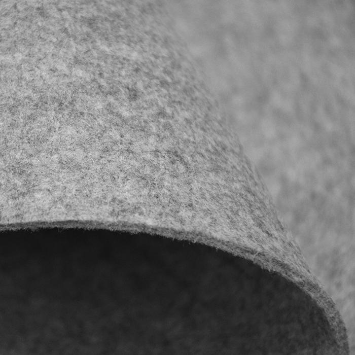 Filc 3mm, poliester, 16124-063, siva melanž