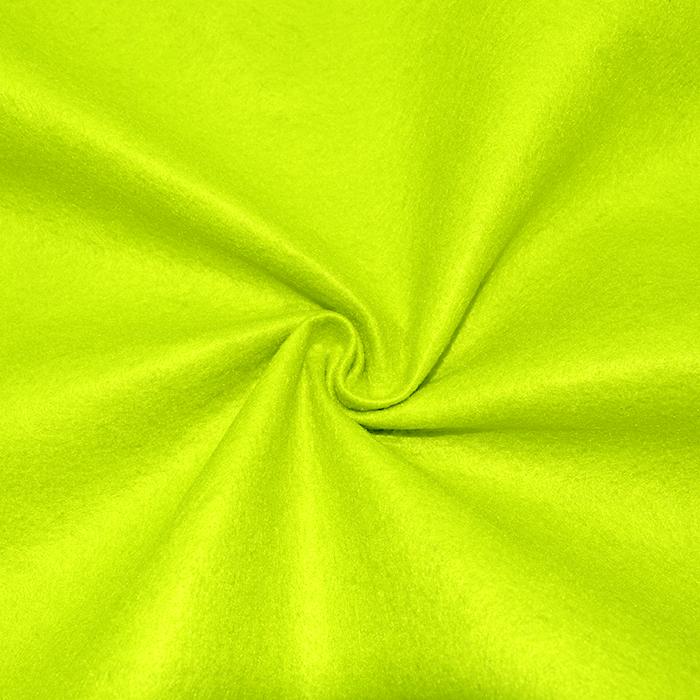 Filc 1,5mm, poliester, 16361-125, neon rumena