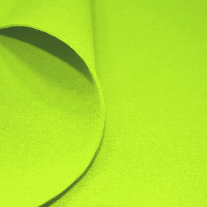 Filc 3mm, poliester, 16362-125, neon rumena