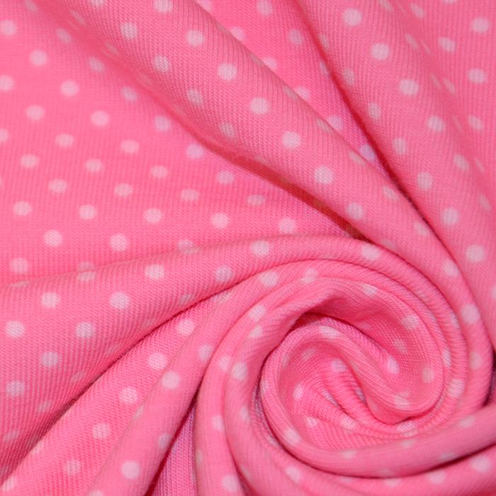 Jersey, bombaž, pike, 16364-012, roza