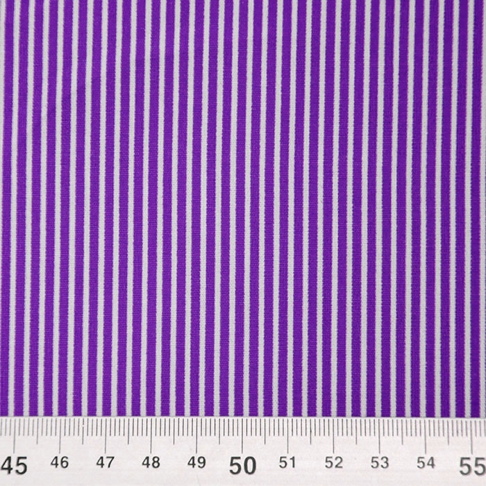 Bombaž, poplin, črte, 16048-343, vijola
