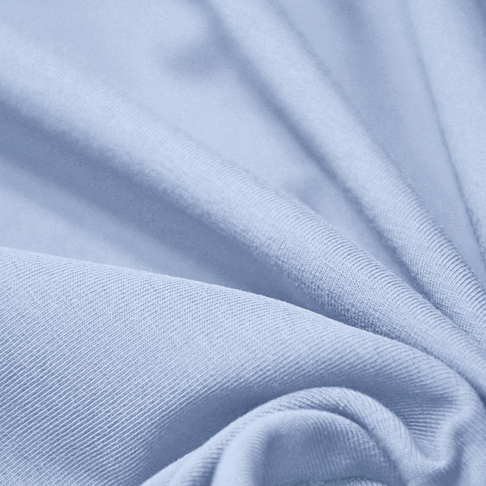 Jersey, bombaž, 13335-51, modra