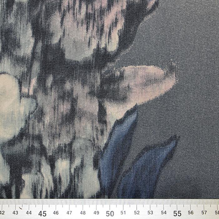 Šifon, poliester, cvjetni, 16480-17
