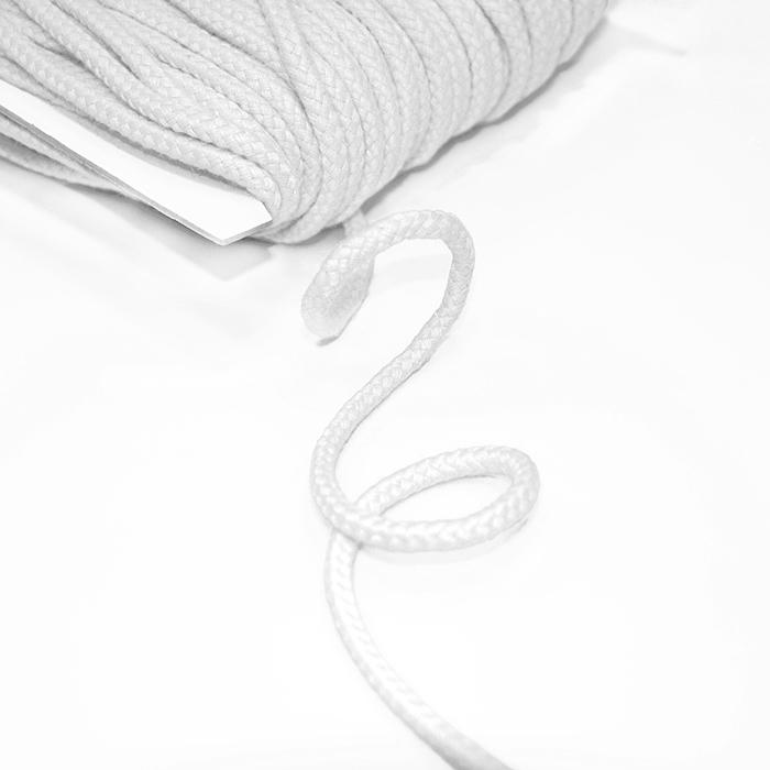 Vrvica, bombažna, 5mm, 16510-42279, bela