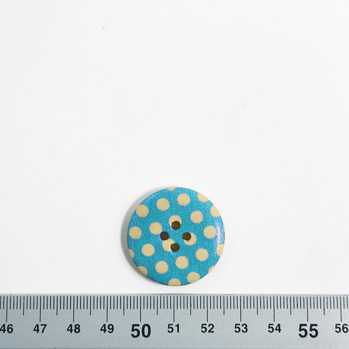 Gumb, leseni, tisk, 30 mm, 16518-42241