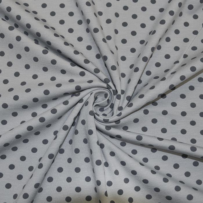 Jersey, bombaž, pike, 16363-163, siva