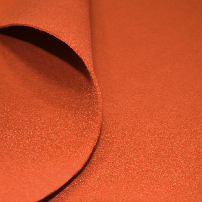 Filc 3mm, poliester, 16124-038, oranžna