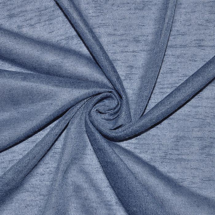 Pletivo, poliester, 16576-695, jeans modra