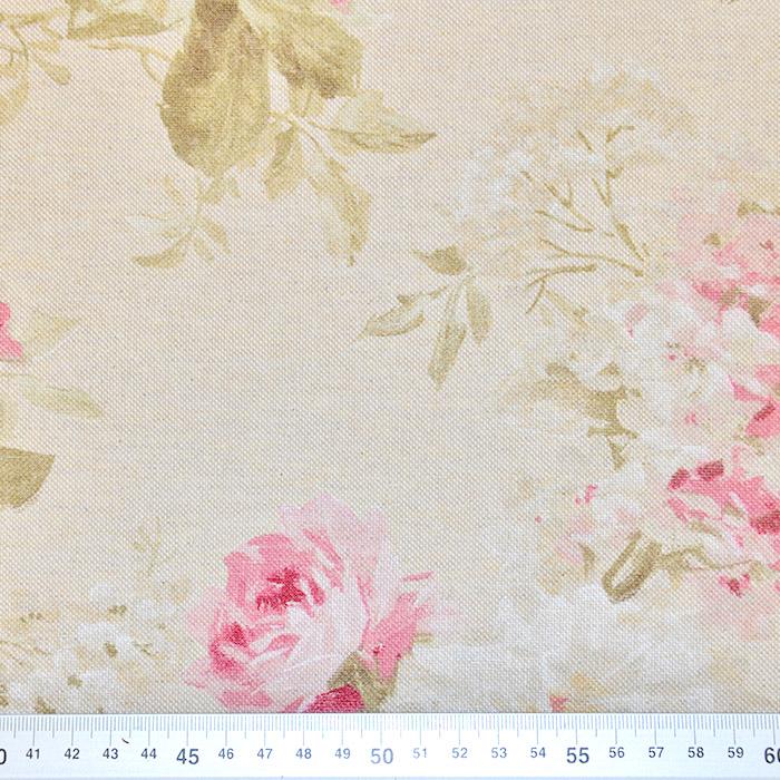 Deko, tisk, cvetlični, 15188-112