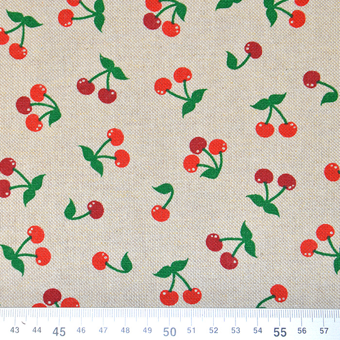 Deko, tisk, sadje, češnje, 15188-145