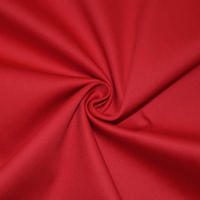 Bombaž, platno, elastan, 10623, rdeča