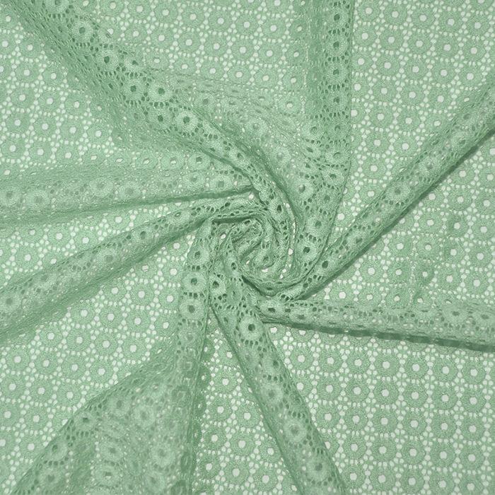 Čipka, krugovi, 16415-022, mint