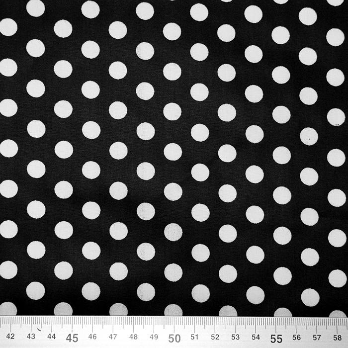 Bombaž, impregniran, pike, 16630-069, črna