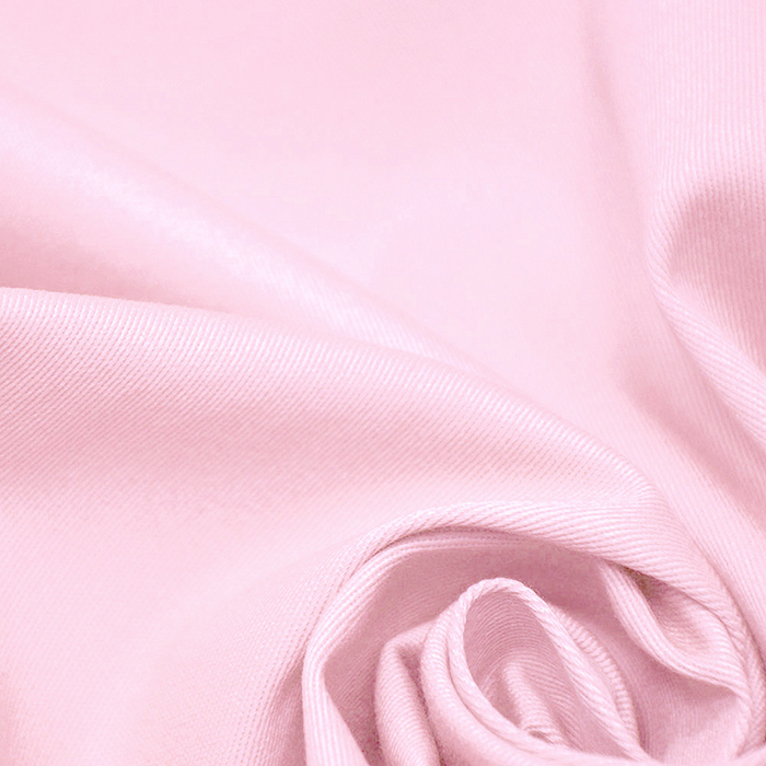 Bombaž, keper, elastan, 15269-011, svetlo roza