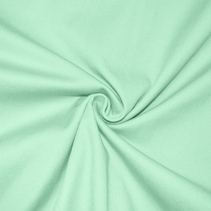 Bombaž, keper, elastan, 16776-122, zelena