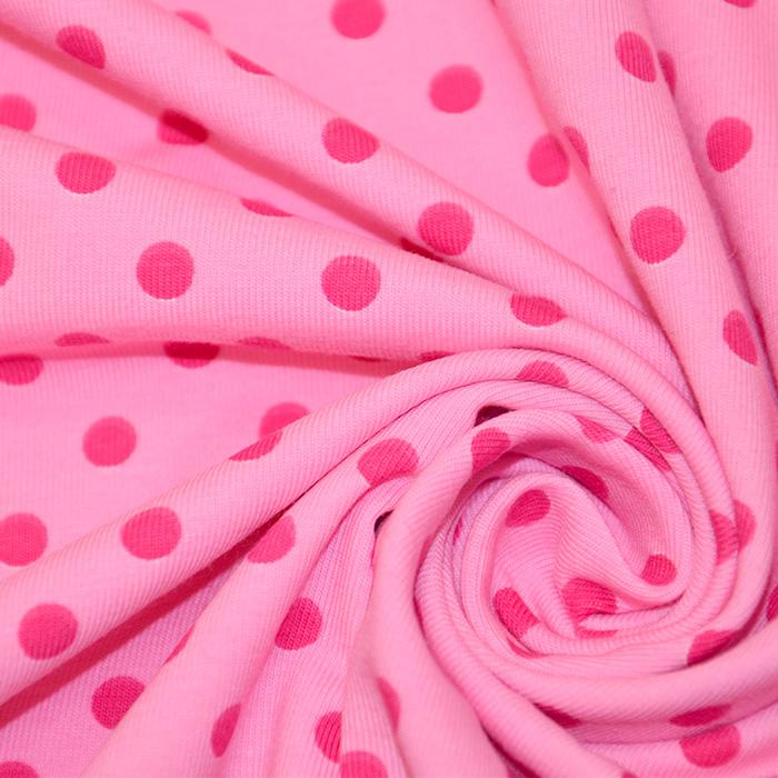 Jersey, bombaž, pike, 16363-117, roza