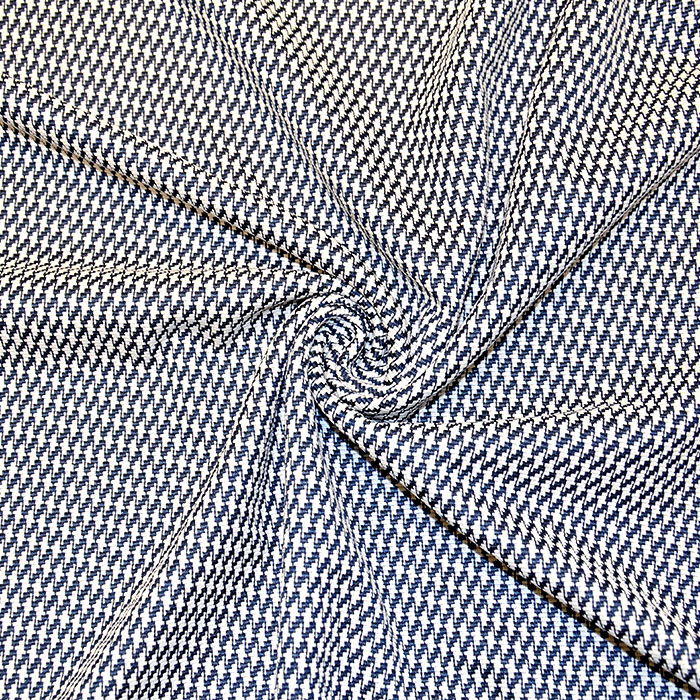 Pletivo, geometrijski, 16810-600, belo modra