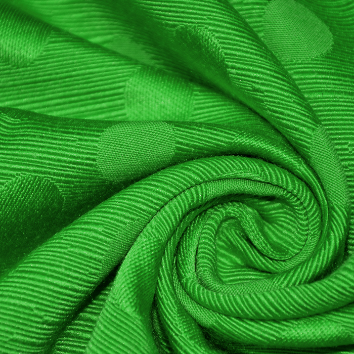 Otoman, žakard, 4146-327, živo zelena