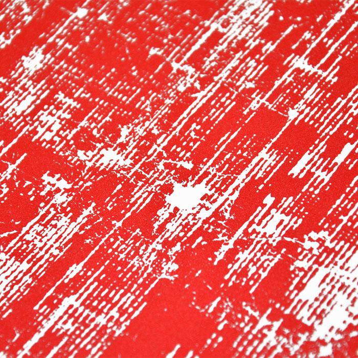 Preslikač, kvadrat, 16924-16, rdeča
