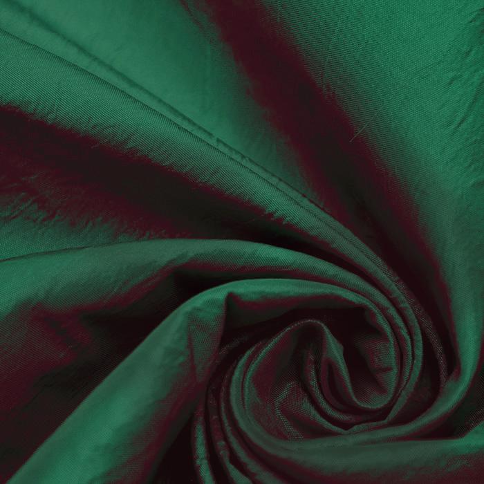 Taft, poliester, 16092-729, zeleno rdeča