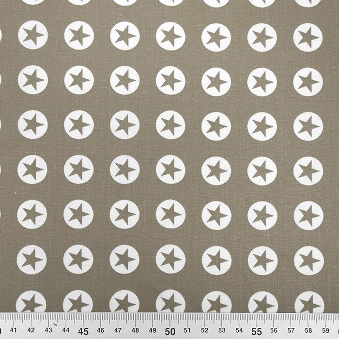Bombaž, poplin, zvezde, 16982-052