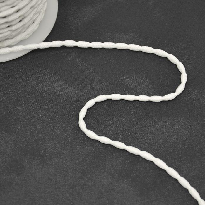Obtežilna vrvica, 50g/m, 17010, bela
