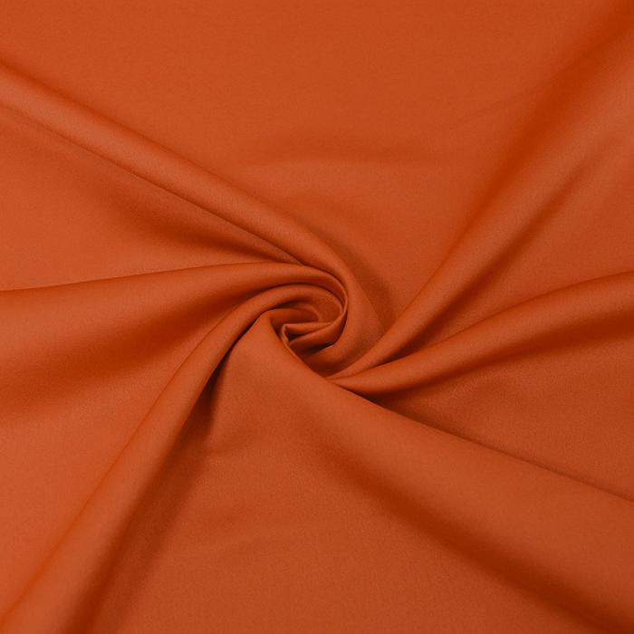 Saten, mikropoliester, 14171-053, oranžna
