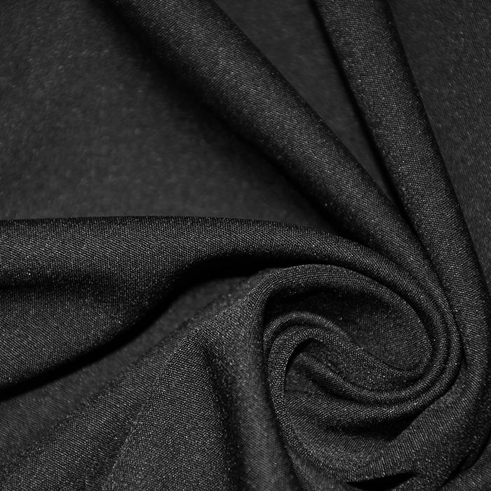 Softshell, velur, 17072-001, črna
