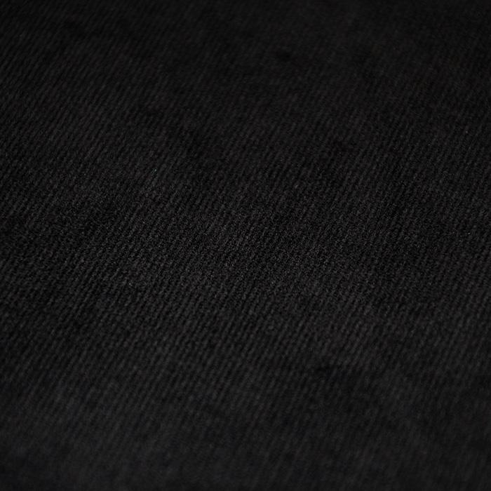 Žamet, bombaž, 17073-001, črna