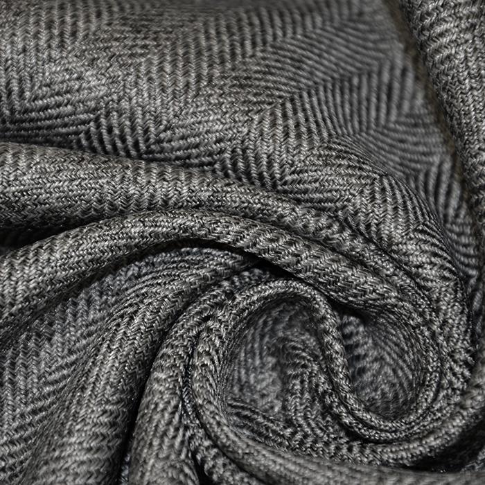 Tkanina, ribja kost, 16620-018, siva